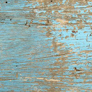 ペンキを塗った木材